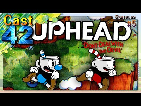 Cuphead - PC | 🎮 Gameplay Co-op - # 5 🎮 | 『Cast 4️2️』【🇵🇹-🇧🇷】
