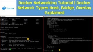 Docker Networking Tutorial | Docker Network Types & Docker Bridge Network Explained
