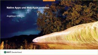Webinar: Native Apps und Web Apps erstellen