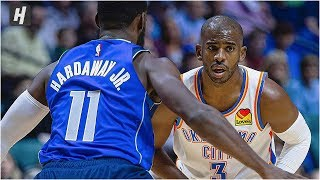 Dallas Mavericks vs Oklahoma City Thunder - Full Highlights | October 8, 2019 | 2019 NBA Preseason