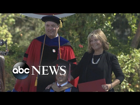 Watch Mother Receive Surprise Diploma!