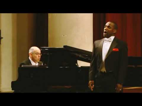 Lawrence Brownlee: LISZT Pace non trovo (Three Sonnets by Petrarch)