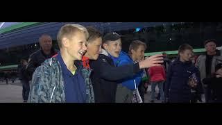 Беларусь - Нидерланды. Атмосфера матча