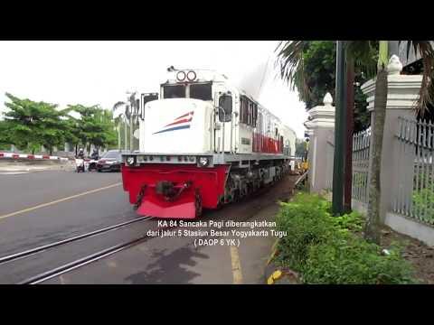 Perjalanan Tunggal Kereta Api SANCAKA Yogyakarta - Surabaya Gubeng ( Part 2 )