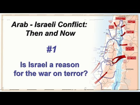 Arab-Israeli Conflict: Then & Now - Lecture 1