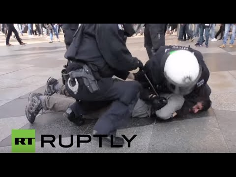 Germany: Turkish nationalists clash with pro-Kurdish protesters in Cologne
