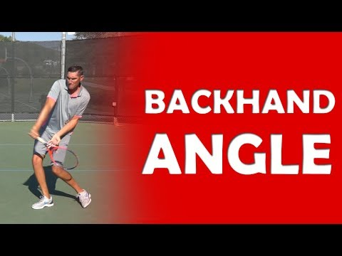 Backhand Angle Technique | ANGLES