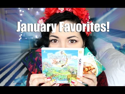 January Favorites Wizards Mononoke Hime Sushi Nails