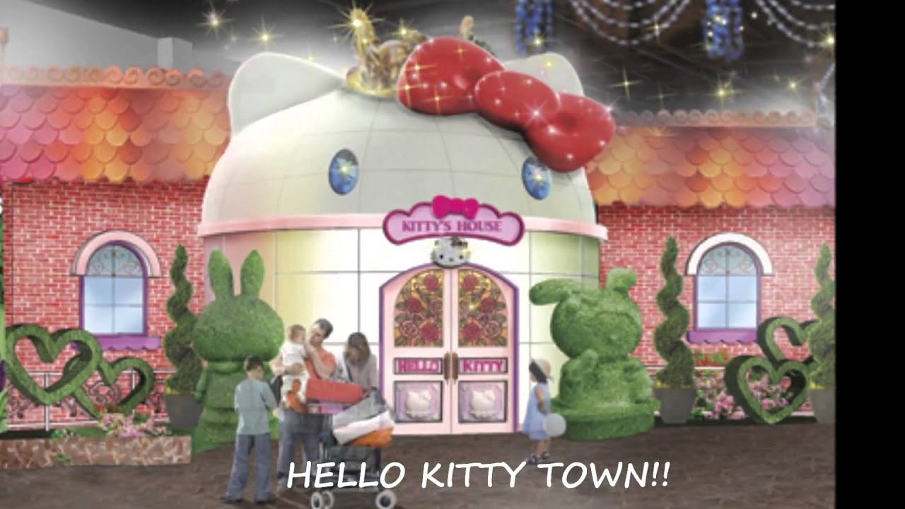 Where Is The Hello Kitty House Located hello kitty theme park in johor malaysia, hotels nearby. - youtube