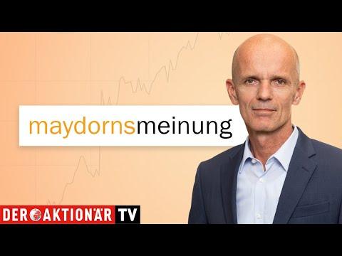 Maydorns Meinung: DAX, SAP, Wirecard, Varta, Tesla, Apple, Alpha Pro Tech, IQiyi