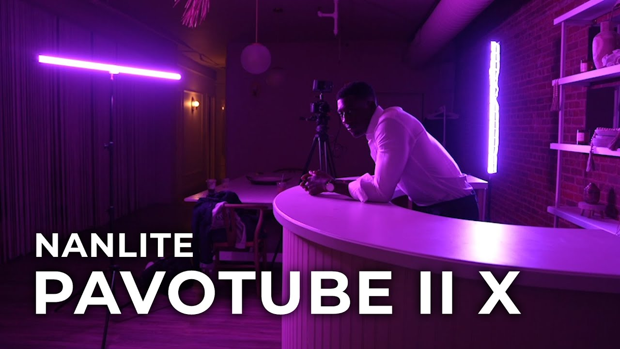 Nanlite PavoTube II X   Hands-on Review
