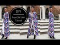 DIY | How To | Front Slit Shirt Tutorial Part 1