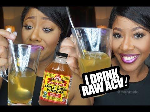 I Drink Apple Cider Vinegar Daily Detox Drink   MakeupMesha