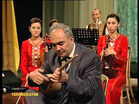 Dutar Performance - Turkmen Folk Music