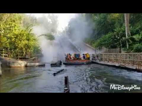 Kali River Rapids FULL WET RIDE POV Animal Kingdom