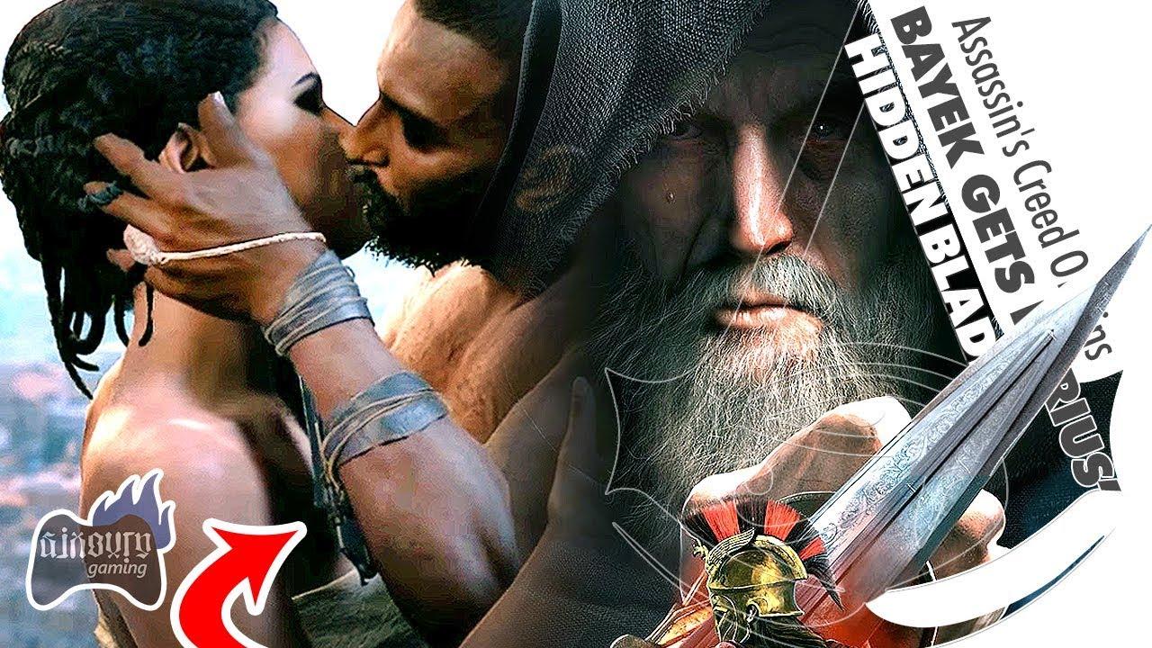 How Bayek Gets Darius Hidden Blade Assassin S Creed Odyssey