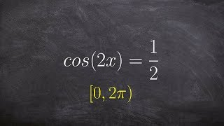 Solving an equation with multi angles