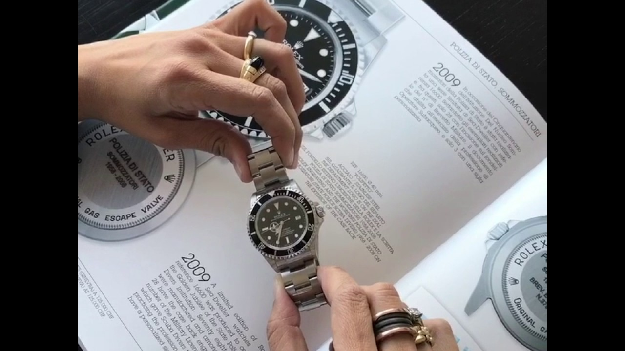 Giorgia Mondani Talks About The Rolex Sea Dweller Polipetto Youtube