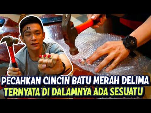 PECAHIN CINCIN BATU MERAH DELIMA KAYAK VLOG PAK AHOK BTP #CINCINAHOK