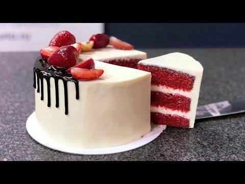 Торт Красный бархат САМЫЙ УДАЧНЫЙ РЕЦЕПТ!!! Red Velvet Cake