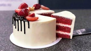 Торт Красный бархат САМЫЙ УДАЧНЫЙ РЕЦЕПТ Red velvet cake