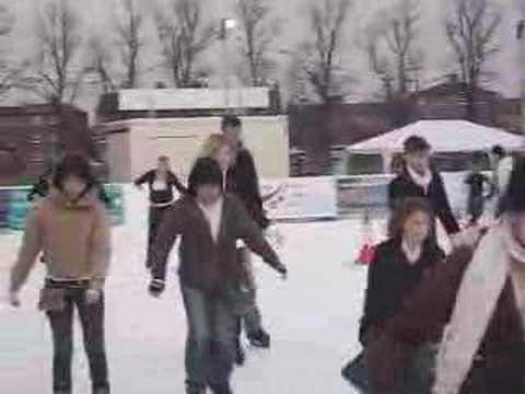 Cambridge ice skating