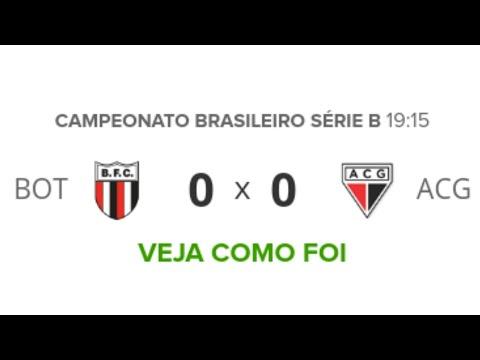 Botafogo-SP 0 x 0 Atlético-GO | Melhores Momentos | Brasileirão Série B | 17/10/2019 | Futebol