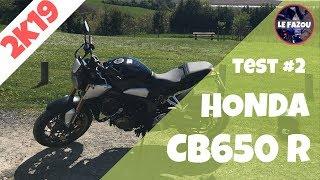 TEST - HONDA CB650R 2019 - Le meilleur 4 cylindres A2!
