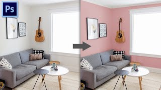 Cara Merubah Warna Cat Rumah Di Photoshop