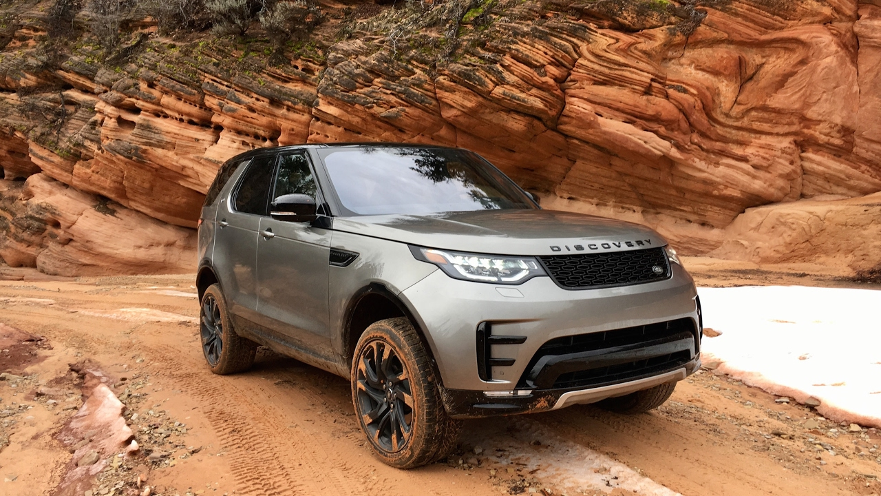 2017 land rover discovery offroad youtube