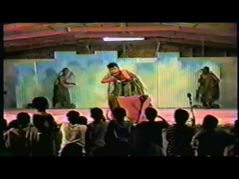The Flower-loving Demons of Ujae; a play in Marshallese