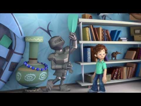 Мультфильм про рыцарей в доспехах
