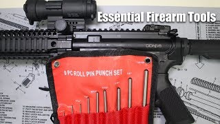 Roll Pin Punch Set - Essential Firearm Tools