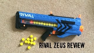 Nerf Rival Zeus MXV-1200 Unboxing, Review & Range Test
