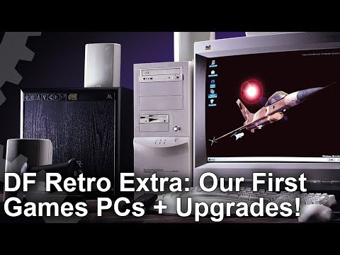 DF Retro Extra: Our First Games PCs and Component Upgrades!