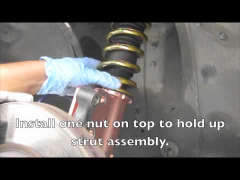 How To Install Coilovers 240sx Youtube