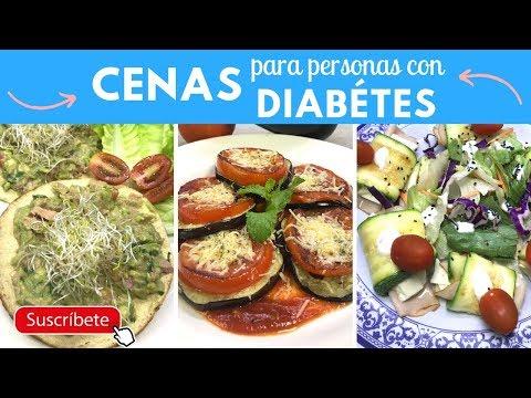Cenas para diabéticos, hipertensos e hígado graso | Cocina de Addy