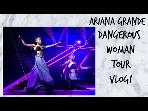 ARIANA GRANDE DANGEROUS WOMAN TOUR VLOG! | India Grace