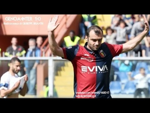 GENOA-INTER 1-0 - Radiocronaca di Giuseppe Bisantis (7/5/2017) da Rai Radio 1