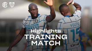 INTER 7-0 CARRARESE | TRAINING MATCH HIGHLIGHTS | Getting ready for our first official game... 🔥⚫🔵