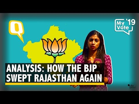 How Despite Congress' Win in 2018, BJP Swept Rajasthan Again | The Quint