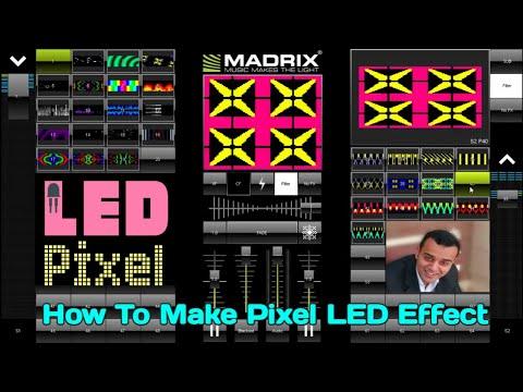 How To Make Pixel LED Effect By MADRIX - LEDeasy - LED Build - LED edit 2014 tutorial