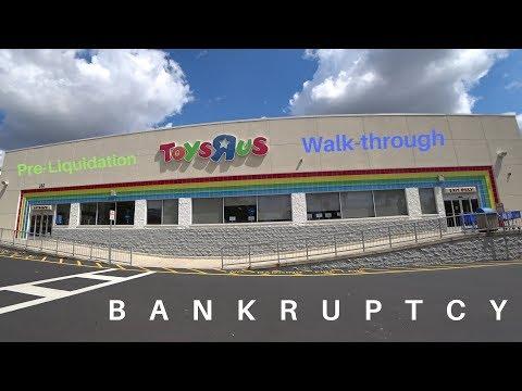 "Toys ""R"" Us bankruptcy pre-Liquidation walkthrough"