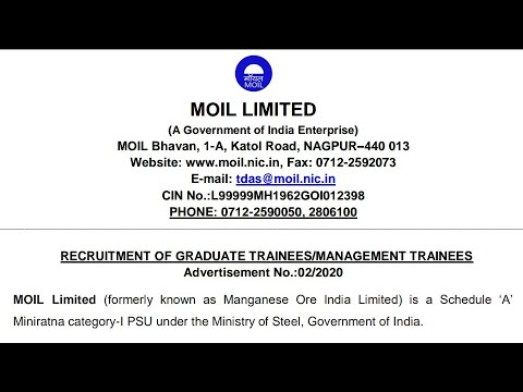moil-ltd-||-recruitment-||-freshers-b.tech-in-any-discipline-,mba,p.g.,ca-||-last-date-:-09/03/2020