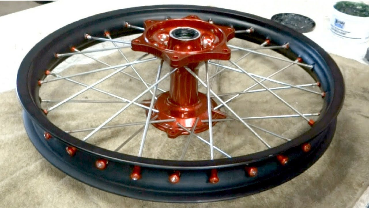 POWDERCOATING & BUILDING WHEELS PART 1 - YouTube