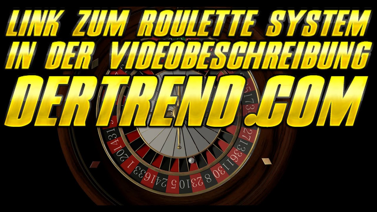 Sicheres Online Roulette System