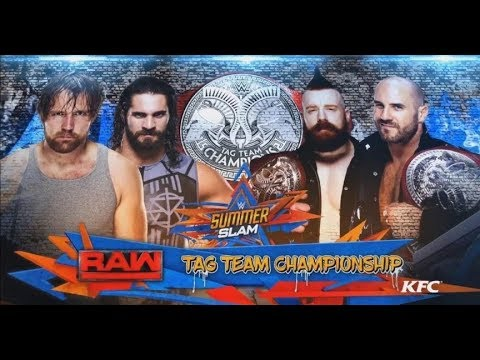 sheamus and cesaro vs rollins and ambrose