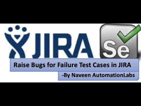 jira-integration-with-selenium-||-raise-a-bug-for-failure-test-cases-||-no-manual-bug-in-jira