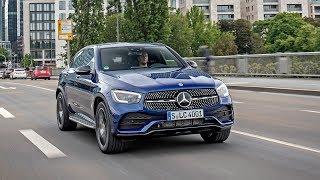 Mercedes-Benz GLC 300 4matic Coupe 2019 в статике и динамике