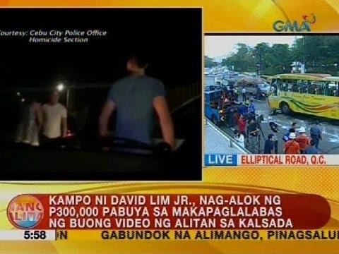 Kampo ni David Lim Jr., nag-alok ng P300,000 pabuya sa makapaglalabas ng buong video